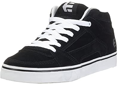 etnies RVM Black White Mens Suede Skate Trainers10