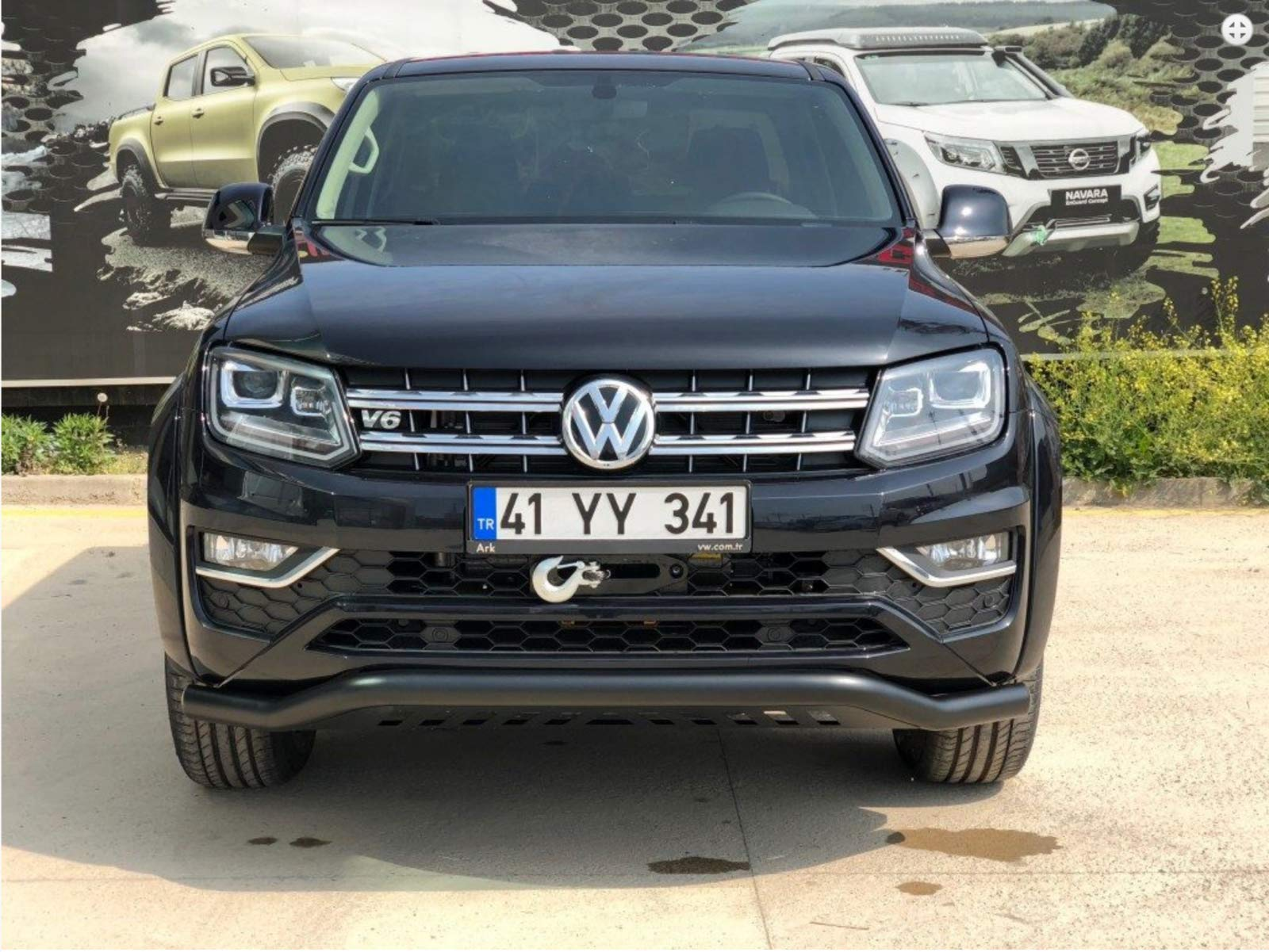 VW AMAROK SPOILER BAR BULL BAR NUDGE GRILL GUARD CITY GUARD 2010-2016