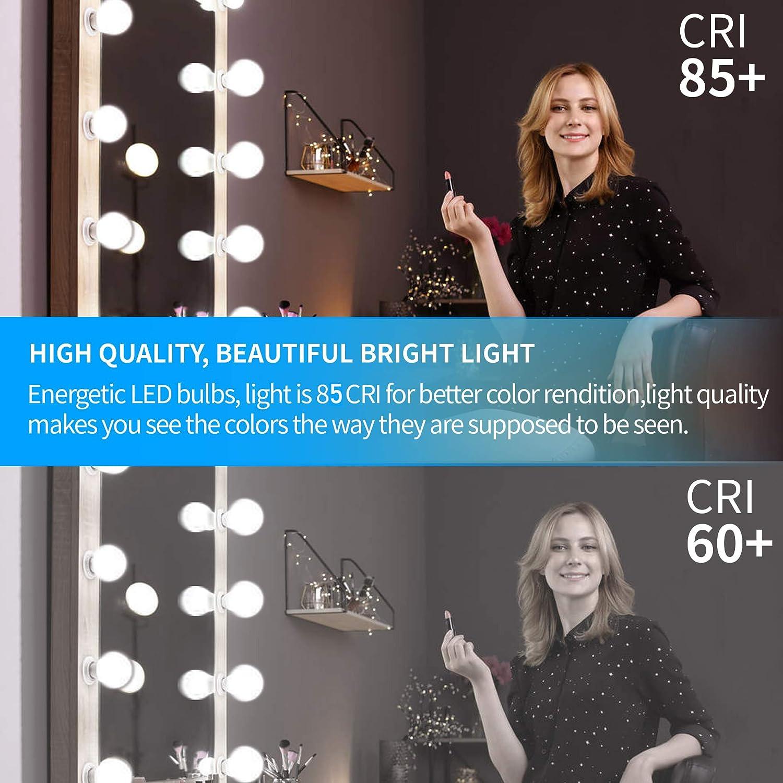 Vanity Light Bulb For Bathroom Vanity Mirror Honesorn Bathroom Light Bulbs 5w 60 Watt Equivalent Light