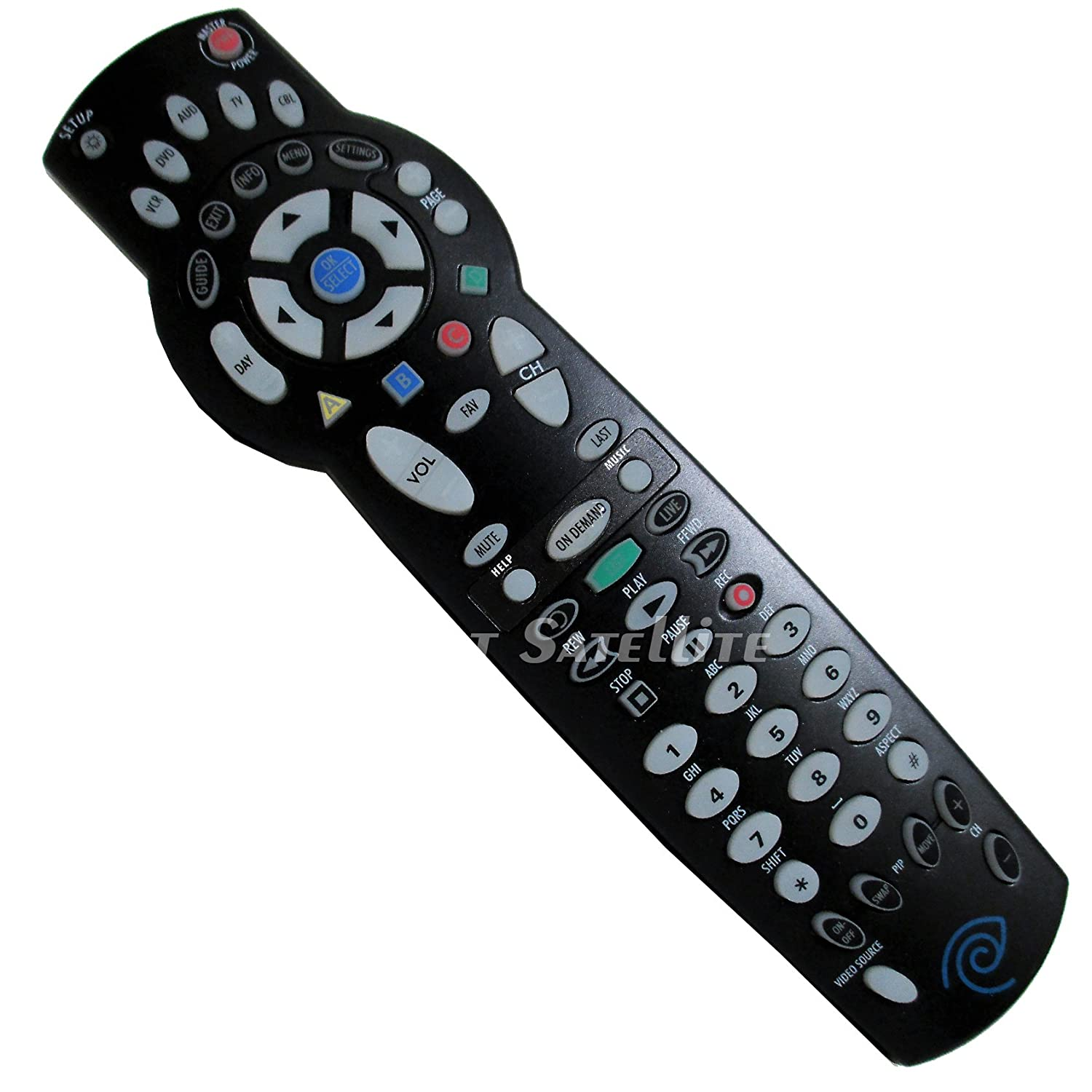 Amazon.com: Time Warner Universal ATLAS OCAP 5-Device Cable Remote Control  1056B03 by UEi: Electronics