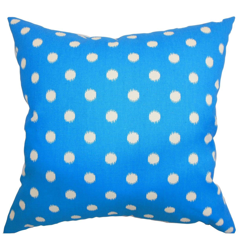 The枕コレクションRennice Ikat DotsグラスホッパーNatural枕、20
