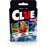 Clue Card Game - Classic Cluedo Mystery Board Game with a twist - 3-4 Players Strategy Game - Kids Toys and Games - Ages…