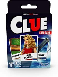 Hasbro Gaming Classic Card Game Clue