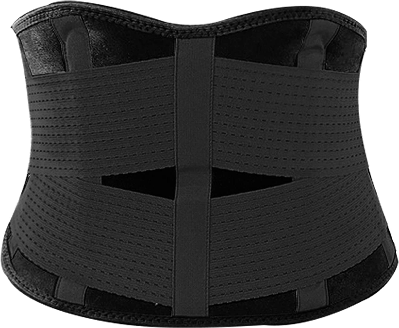 Goldenstarsport Most Effective Waist Trainer Premium Quality Waist Trainer for Weight Loss Comfortable Waist Trimmer Versatile Waist Belt – Magical Sweat Belt for Quicker Inch and Pounds Loss