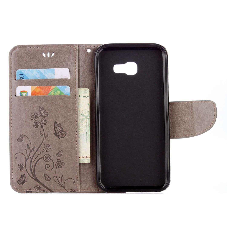 Funda Para Huawei Y6 II/Honor 5A , pinlu® Alta Calidad Función de plegado Flip Wallet Case Cover Carcasa Piel PU Billetera Soporte Con Ranuras ...