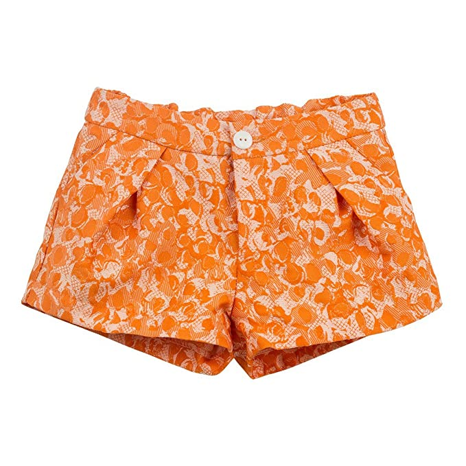 Moda Minis Short Adara - 10A, Naranja