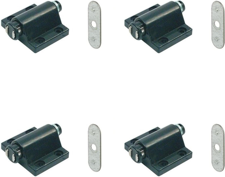 plaque X2 magn/étique pression Appuyez pour ouvrir tactile Loquet de cuisine Cabinet portes Intercepte
