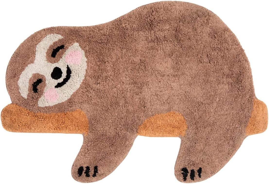 Sass and Belle Happy Sloth Chill Zone Rug