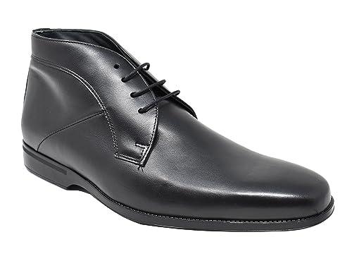 BAERCHI - Zapatos Botines de Vestir de Hombre - Muy cómodo - Hecho en España -