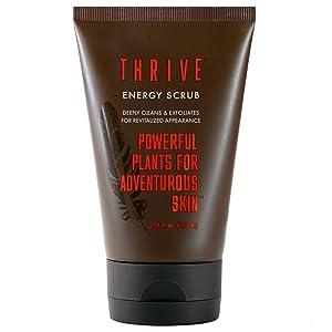 All Natural Face Scrub for Men & Women – Exfoliating Face Wash Improves Skin Texture, Unclogs Pores, Helps Prevent Blackheads & Ingrown Hairs – Made In USA – Vegan Facial Scrub Women & Mens Exfoliator