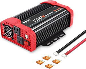 NDDI 1500W Car Power Inverter