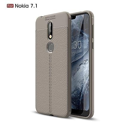 Amazon.com: Funda para Nokia 7.1 (2018), DAMONDY 3D Skin ...