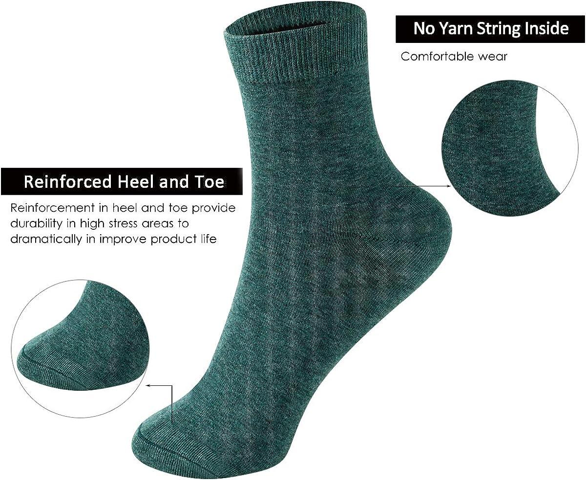 Women/'s Socks 100/% Cotton Striped Collegiate Tube Pile Socks Breathable Autumn