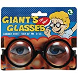 GIANT GLASSES NOVELTY SCHOOL GEEK FANCY DRESS