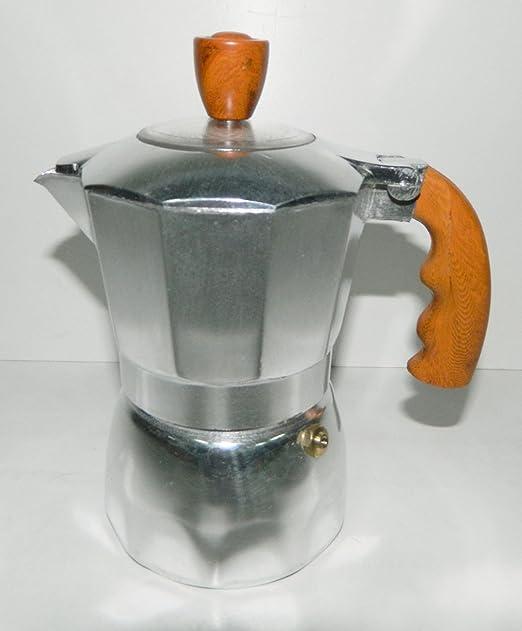 Cafetera italiana clásica 2 taza café cocinas excepto inducción ...
