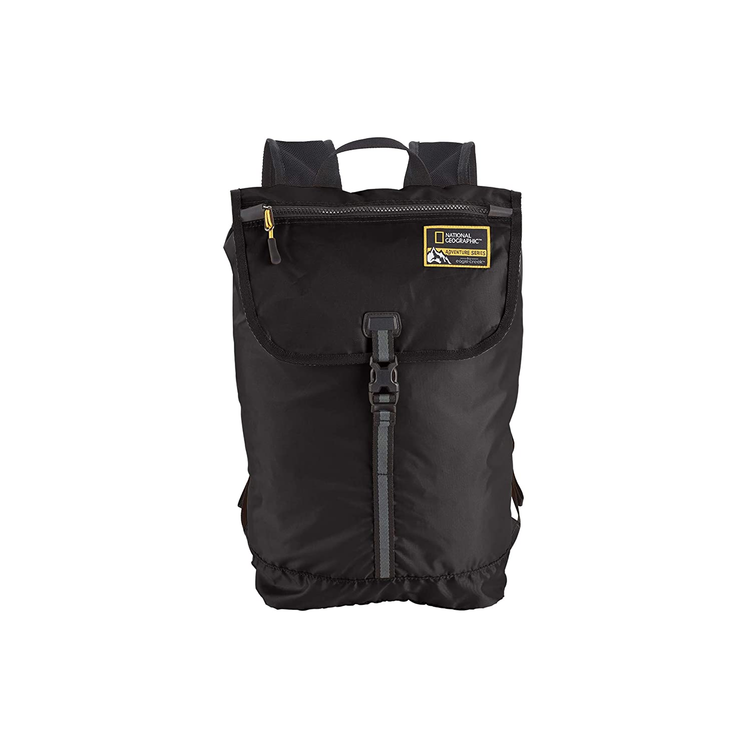 244545d0c Amazon.com   Eagle Creek National Geographic Adventure Packable Backpack 15l  Travel, Black, One Size   Casual Daypacks