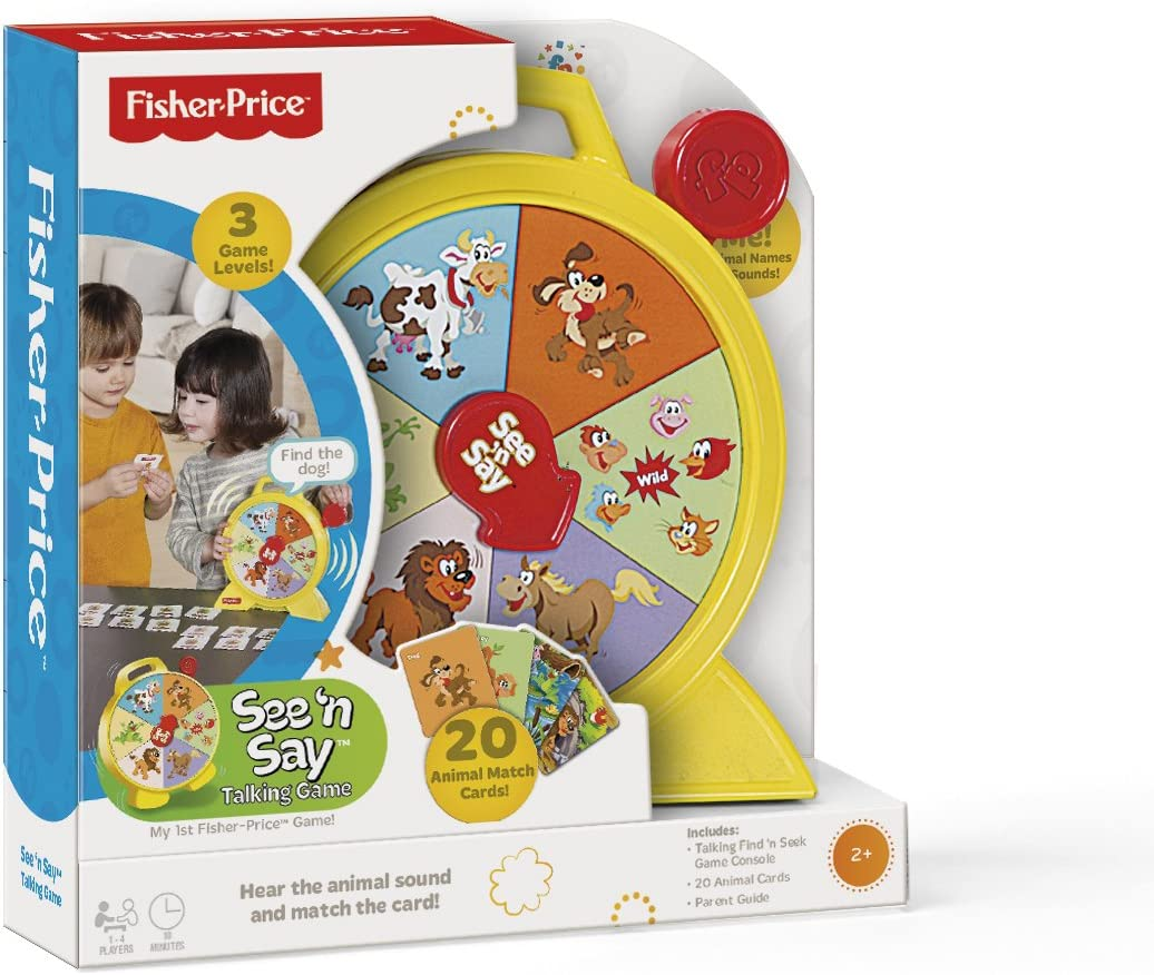 Fisher-Price See 'n Say Talking Game