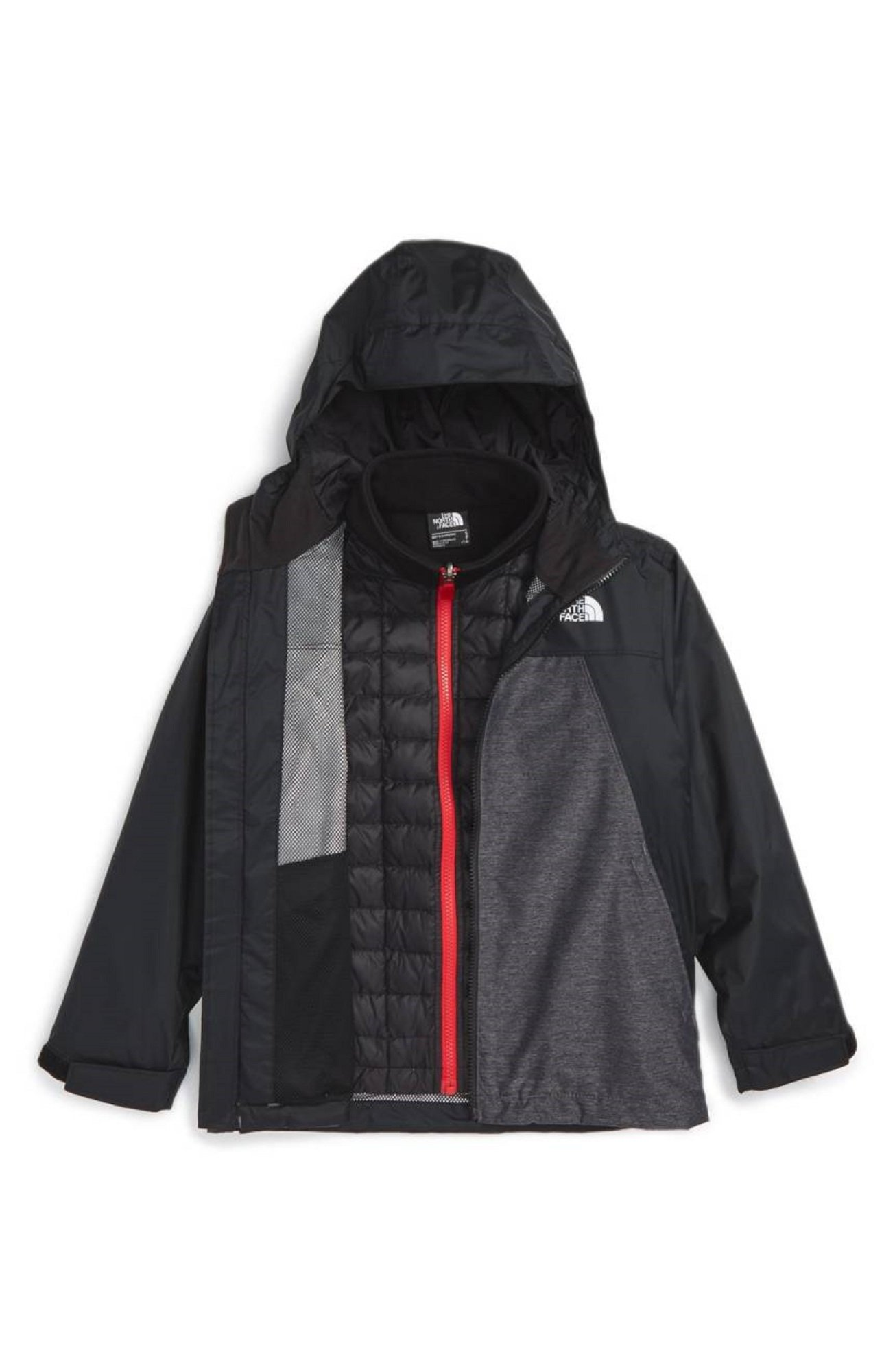 The North Face Youth Boy's Thermoball Triclimate 3-In-1 Waterproof Snow Jacket (S 8)