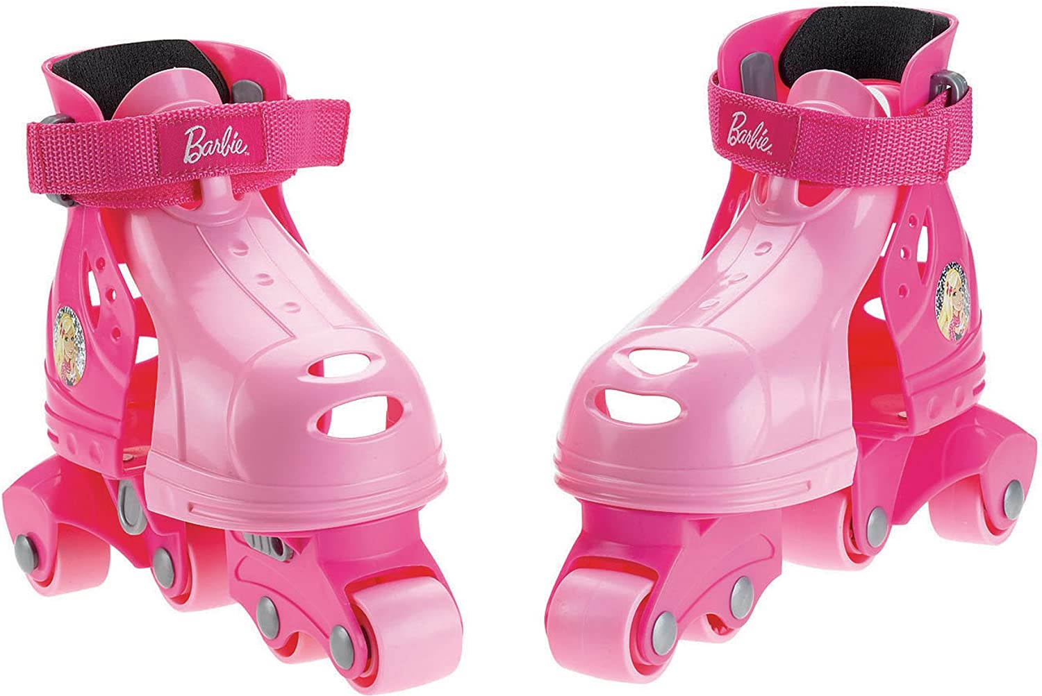 Fisher Price Barbie Grow With Me 1 2 3 Inline Skates Toys Games