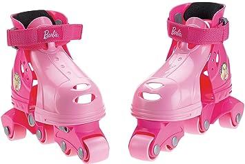 Grow with me Mattel V7623 Fisher-Price 1-2-3 - Patines de Aprendizaje para niñas (en línea): Amazon.es: Juguetes y juegos