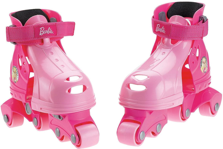 Fisher-Price Mattel MFV7623, Pattini in Linea 1-2-3 Barbie, 2-5 anni, adatto alla misura delle scarpe 21-30 EU