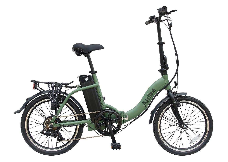 Viking - Bicicleta eléctrica plegable modelo Arriba (36 V, 250 W, hasta 45 Km de autonomía).: Amazon.es: Deportes y aire libre