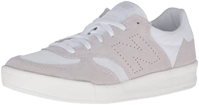 New Balance Men's CRT300 Classic Court Fashion Sneaker, White, ...