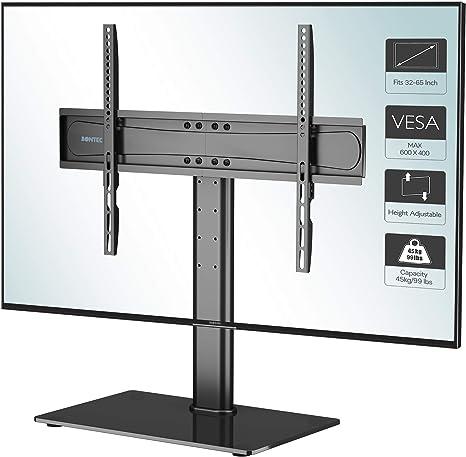 """Universal TV Stand Base Tabletop VESA Pedestal Mount Bracket For LCD LED 26/""""-65/"""""""