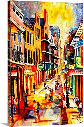 Bourbon Street Mood Canvas Wall Art Print