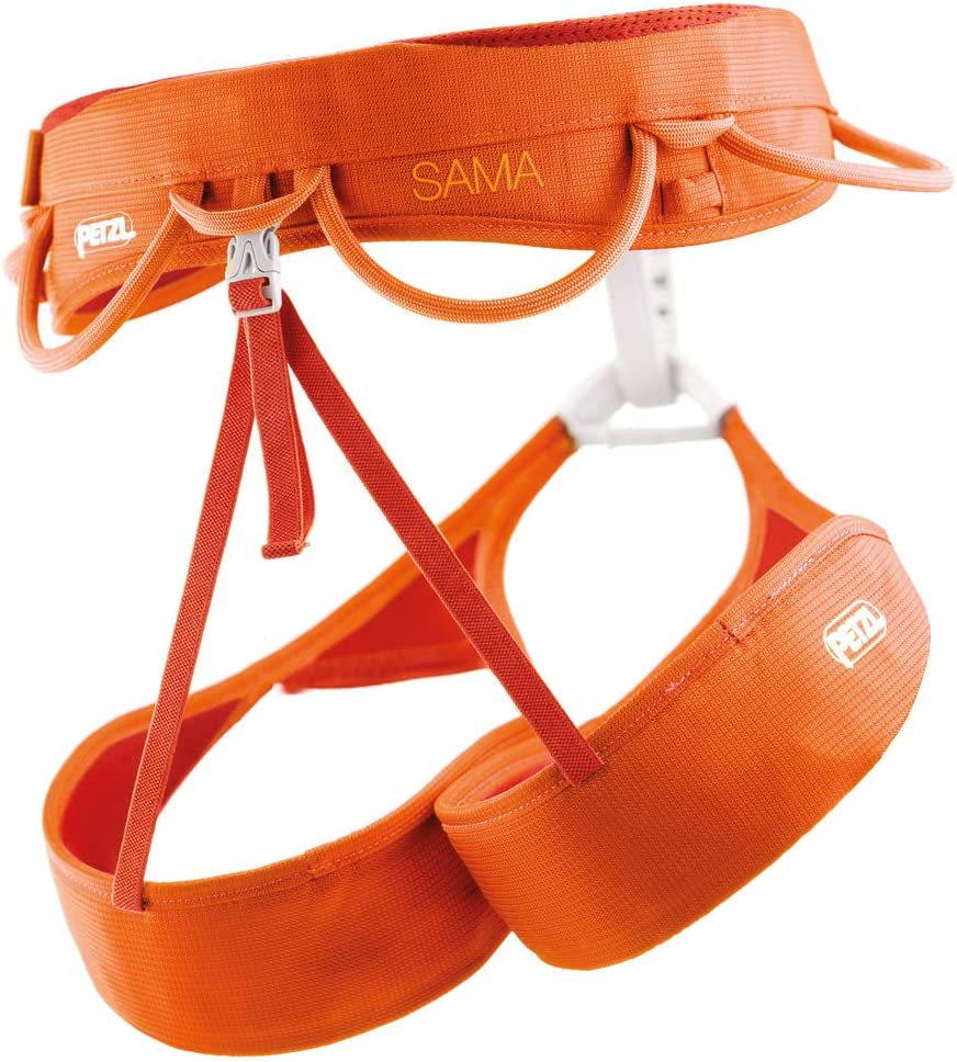 PETZL Klettergurte Sama - Arnés de Escalada, Color Naranja, Talla ...