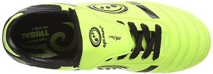 Amazon.com: Optimum Tribal SG Rugby Boots - Youth - Yellow/Black -: Sports & Outdoors