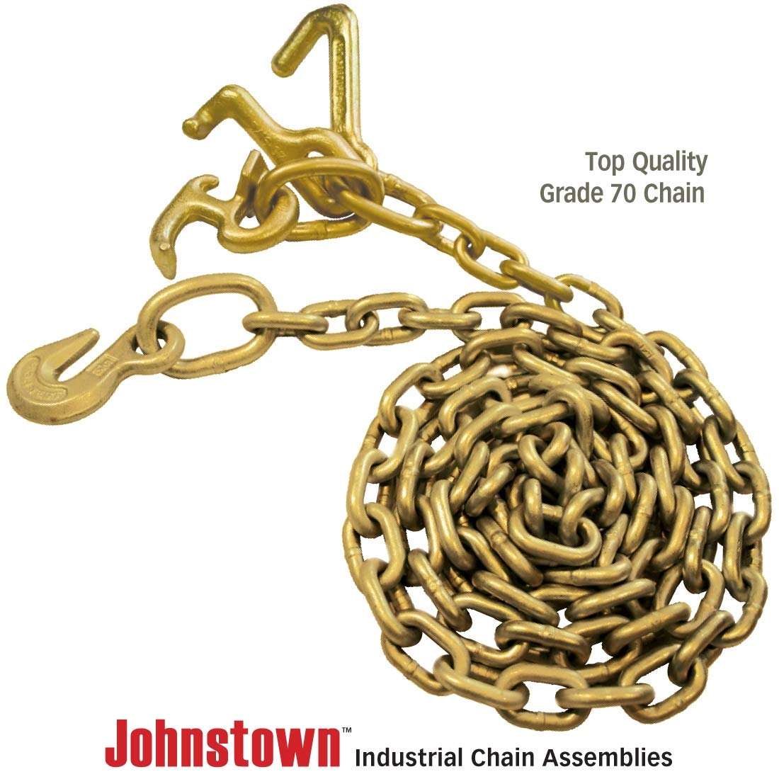 SWL Johnstown Grade 70 Tow Chain Universal RTJ Cluster 8 4700 lbs