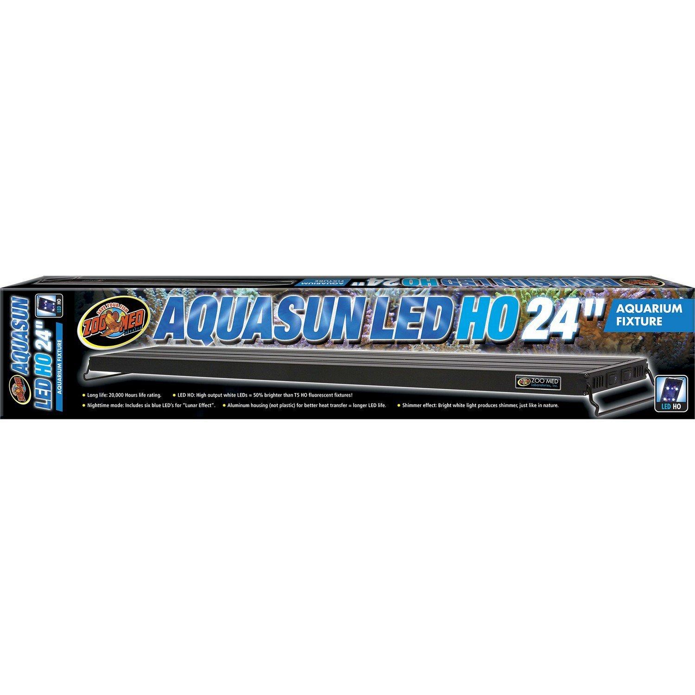 Zoo Med Aquasun LED Ho Aquarium Hood 24