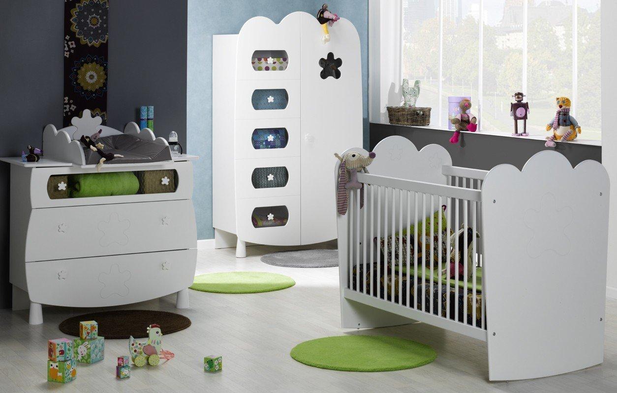 Alfred & Compagnie Schlafzimmer Baby Anforderung Stufen, Weiß bestellen