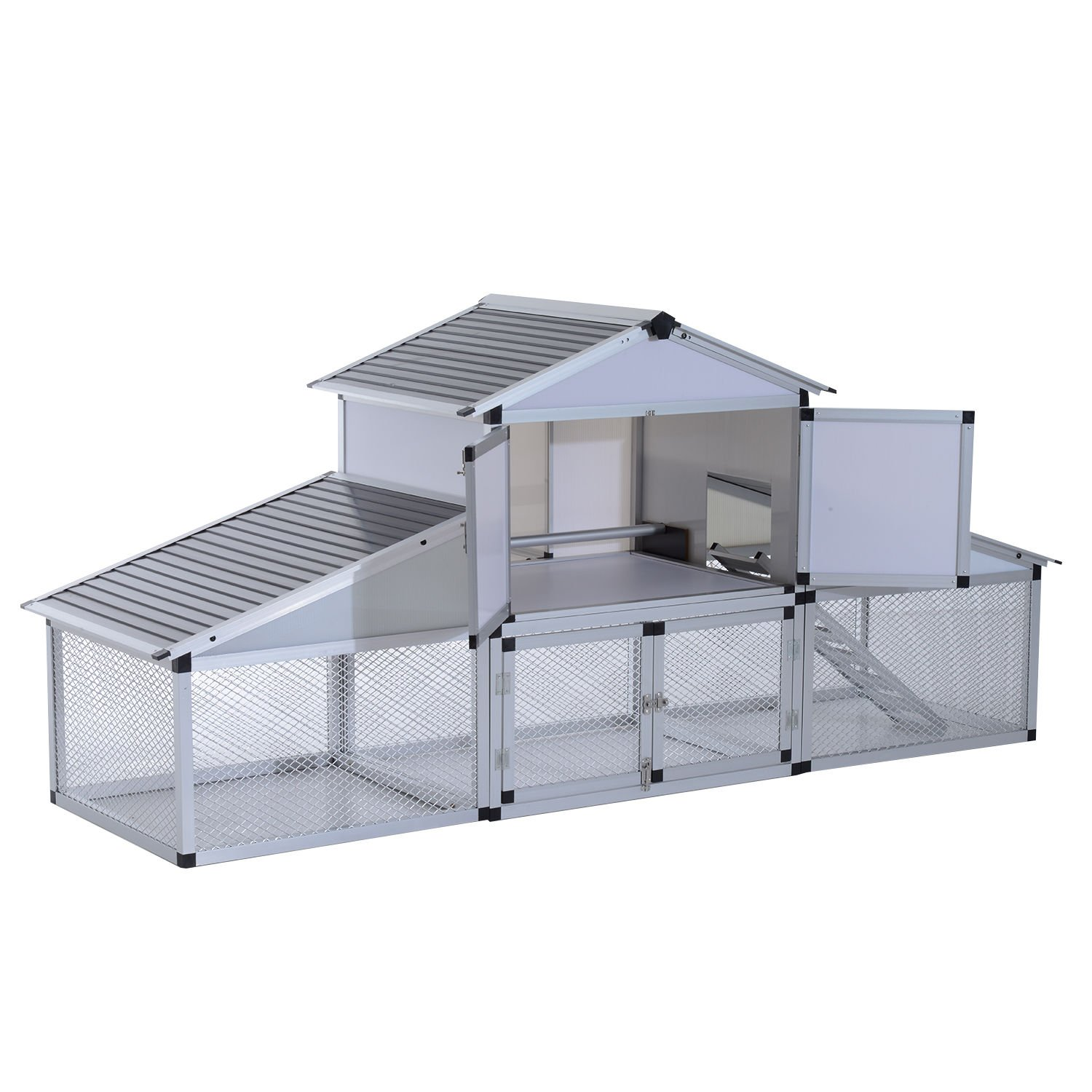Amazon.com : Aluminium Chicken House Large 100\