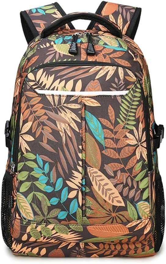 LBYMYB Printed Shoulder Bag Student Bag Fashion Trend Travel Bag Kidss Backpack Color : A