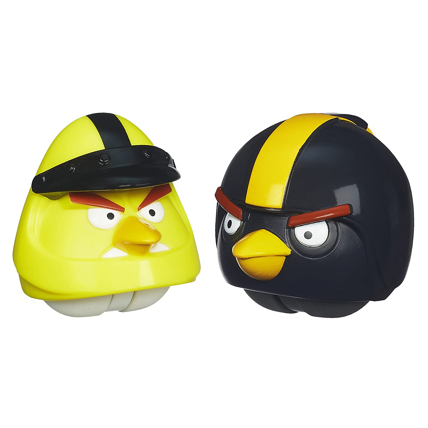 Angry Birds Playskool Heroes Angry Birds Go Yellow Bird and Black Bird