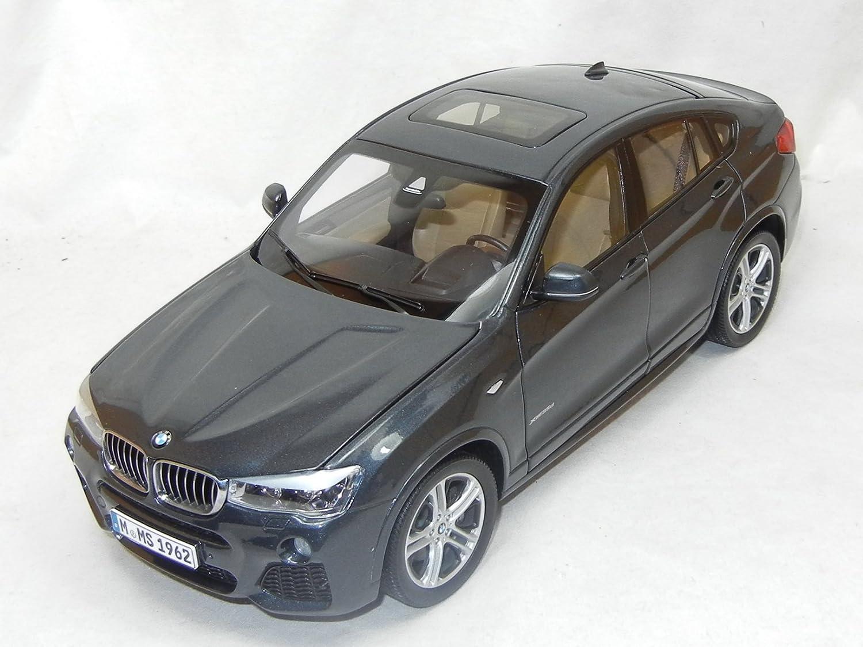 BMW Modellauto 1:18 X4 SUV sophisto grau metallic