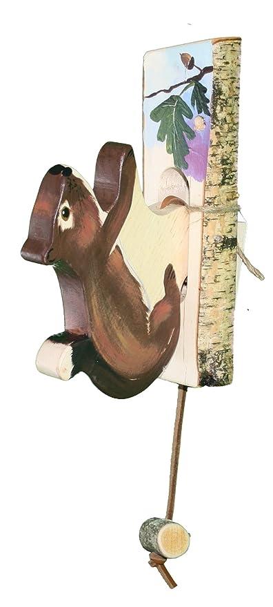 Amazon.com: Alexanders Bird de madera tallada a mano Puerta ...