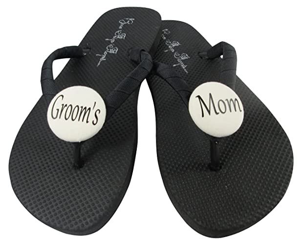 6aa4fc8e543c Amazon.com  Flip Flops for the Mother of the Groom - gift for bridal party   Handmade