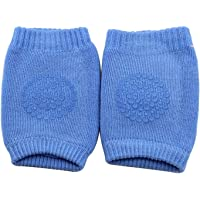 Babymoon (Set of 2 Pairs) Baby Knee Pads for Crawling, Anti-Slip Padded Stretchable Elastic Cotton Soft Breathable Comfortable Knee Cap Elbow Safety Protector