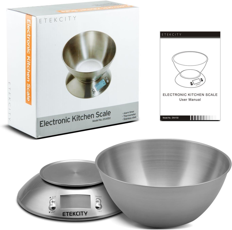 Etekcity Digital Removable Bowl Food Scale