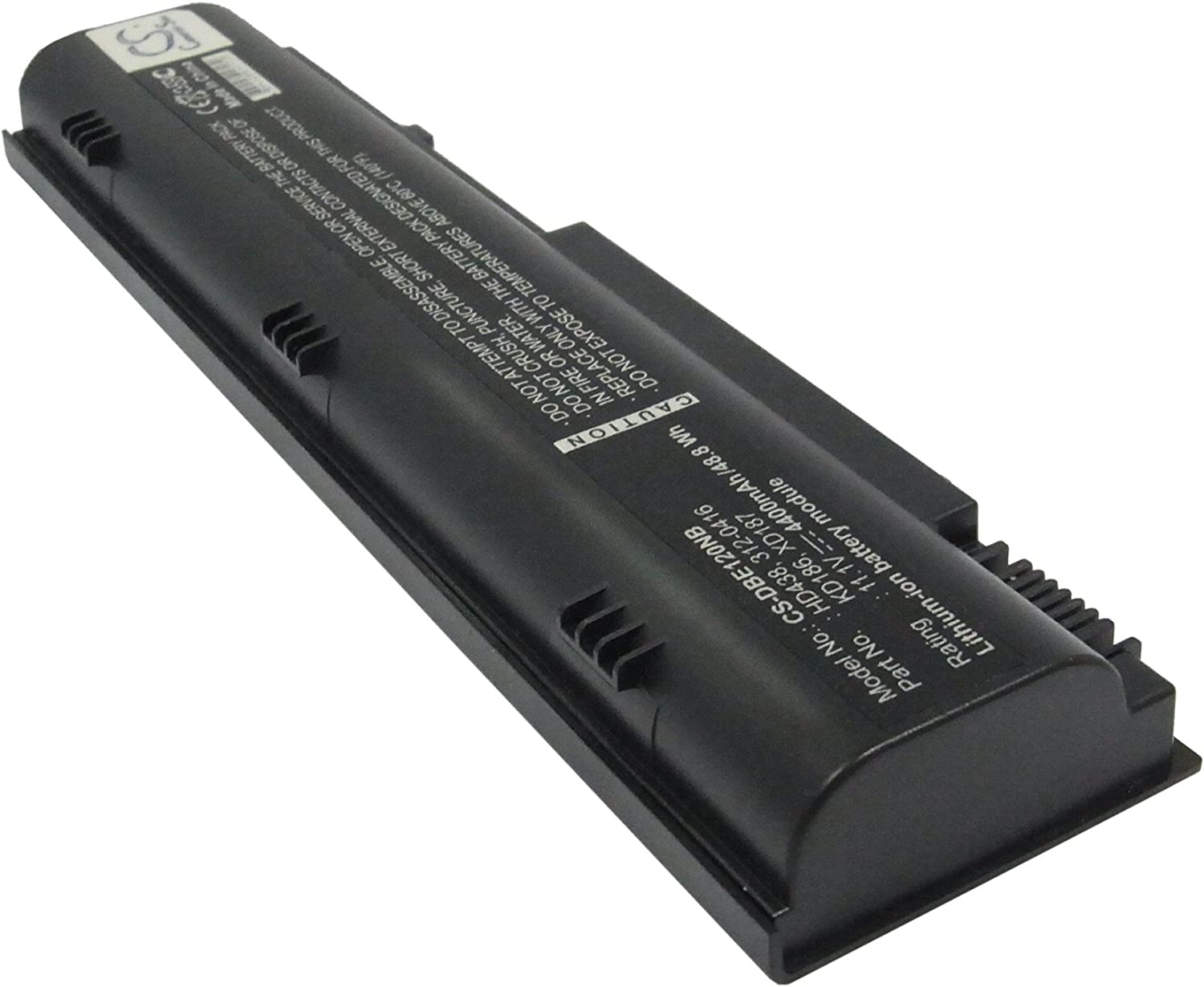 GAXI Battery for DELL Inspiron 1300, Inspiron B120, Inspiron B130 Replacement for P/N 312-0416, HD438, KD186