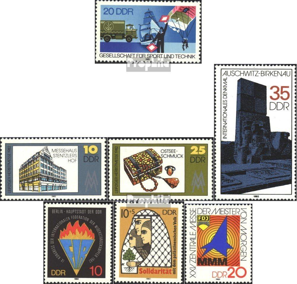 2733,2734,2735,2736 Prophila Collection DDR 2715,2724-2725,2732 1982 Sondermarken kompl.Ausg. Briefmarken f/ür Sammler Stra/ßenverkehr