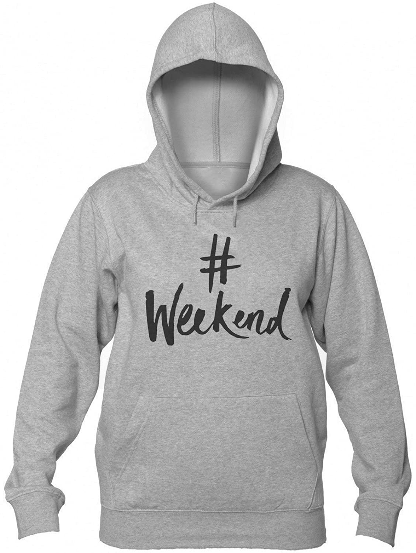 #Weekend Women's Hooded Sweatshirt Extra Large