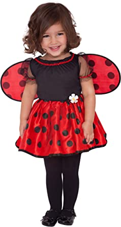 Toddler Lady Bug Fancy Dress Outfit Girls Costume Book Week