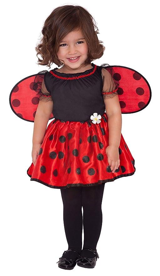 vera qualità aspetto dettagliato come ordinare Amscan International - Costume di carnevale, motivo: coccinella, da bambina