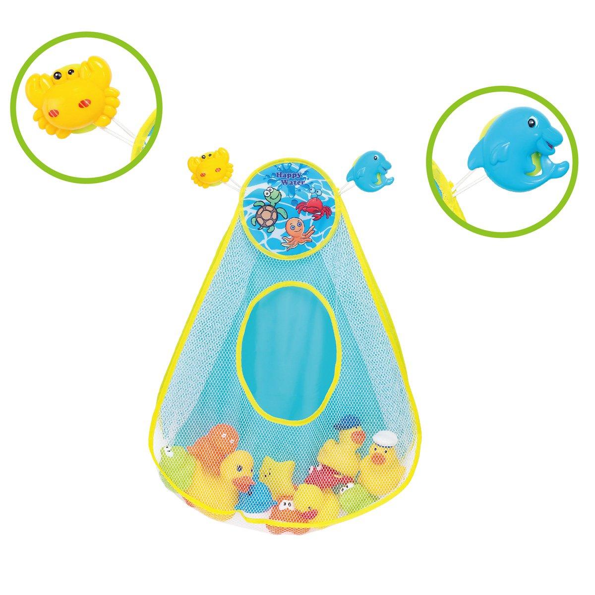 Bath Toy Organizer Quick Dry Net Bath Toy Storage Durable Holder for ...