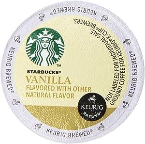 Starbucks Vanilla Coffee Keurig K-Cups, 32 Count (0.35 oz each)