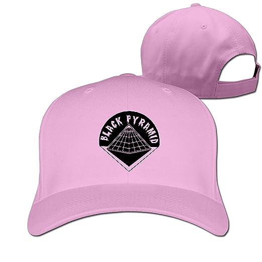 16fd9f8f Amazon.com: Men's Unisex BLACK PYRAMID Logo Rock Cap Winter Snapback ...